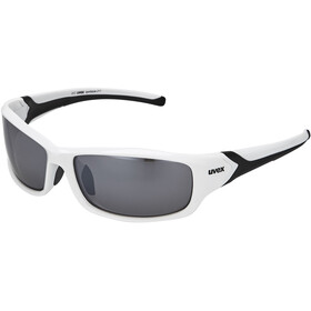 UVEX Sportstyle 211 Glasses white/black/silver